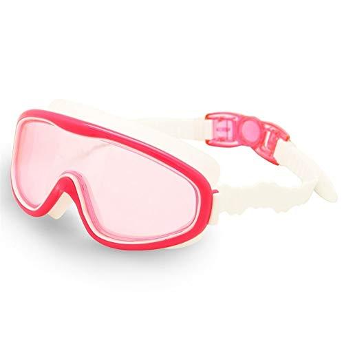 LLTT Kinderen Zwembril Kinderen 3-8Y Wide Vision Anti-Mist Anti-UV Snorkeling Duikmasker Oor Plugs Outdoor Sport