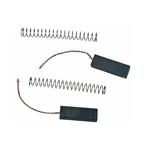 2 x Kohlen Motorkohlen Kohlebürsten Kohlestifte mit Kabel Feder für YDK Motor Staubsauger passend wie Dyson CAR94