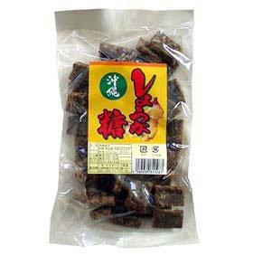 沖縄県銘菓 しょうが入り黒糖(粉) 300g ×4