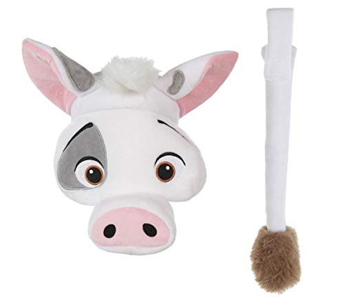 Disney Pixar Moana Pua Headband and Tail Costume Accessory Pig Kit for kids and adults