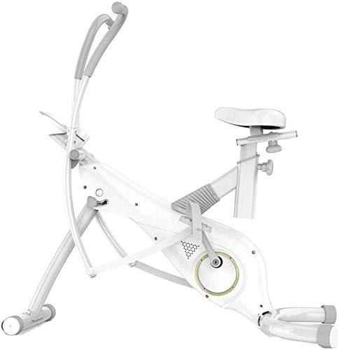 Bicicletas Estáticas Bicicleta Estática Plegable De Cardio Con Sensores De Pulso Bicicleta De Ejercicio Magnética Plegable De Resistencia Ajustable Fitness Cardio Workout Máquina De Pérdida De Peso Zh
