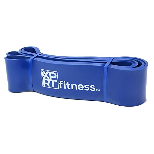 XPRT Fitness Resistance Bands Pull Up Assist Bands Stretching Powerlifting Workout Training - Blue (60-170lb)