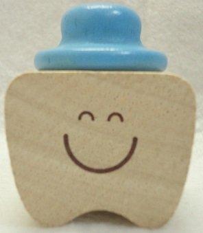 乳歯ケース 乳歯入れ ミルクトゥースホルダー 水色