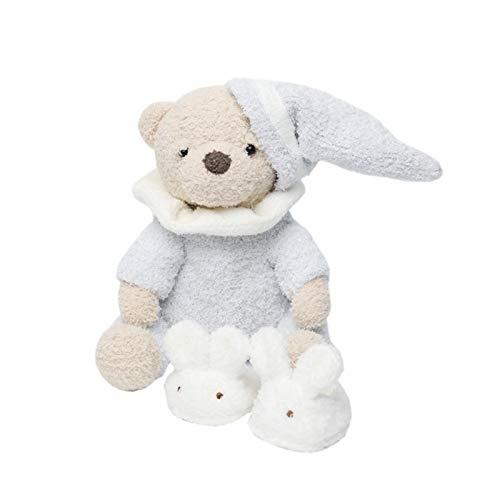 YUNCHENG Nette Spielzeug Cartoon Pyjamas Bär Tier Plüsch Puppe 25cm Weiche PP Baumwolle gefüllte Plüsch Puppe Kinder Urlaub Geschenk Plüsch Spielzeug für Mädchen
