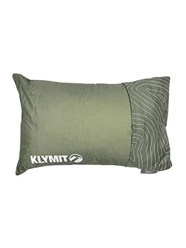 Klymit Unisex's Drift Camping Pillow, Green, Regular
