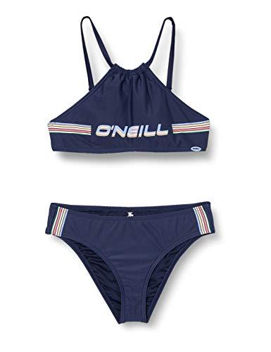 O'NEILL Bikini PG Cali Holiday para niñas, Niñas, 0A8376, Azul, 176
