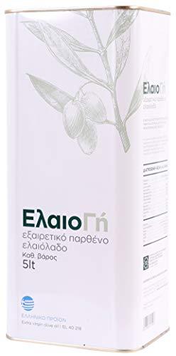 `ElaioGi` Olivenöl 5,0l Kanister aus Griechenland | Extra natives Olivenöl | Kaltgepresst | Tradition seit 1960 | Mildes Olivenöl aus Peloponnes | PROBIERPREIS (5,0l)