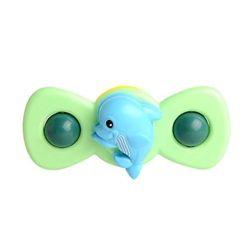 Pageantry Baby Spielzeug und Baby Bad Spielzeug Sucker Rotating Top Toy Saugnapf Saugnapf Kreisel Spielzeug Cartoon Tier Spin Sucker Kreisel Spielzeug