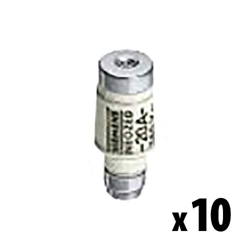 SIEMENS - x10 Stück NEOZED-Sicherungseinsatz 400V gL/gG 16A