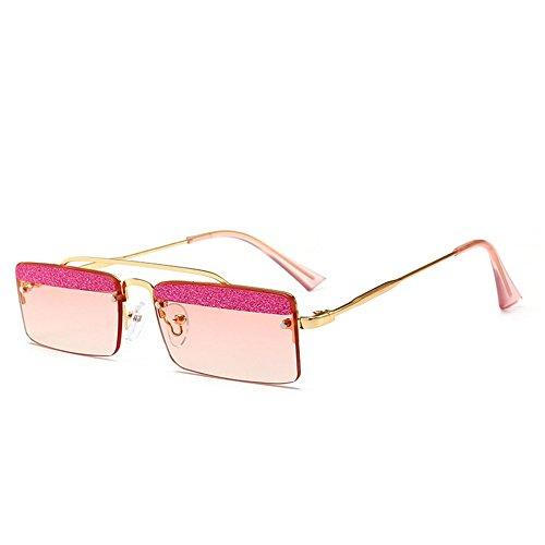 Belleashy Gafas de sol para mujer, estilo vintage, cuadradas, polarizadas, 100% protección UV, para conducir, ciclismo, correr, pesca, golf, uso diario (color: C5)