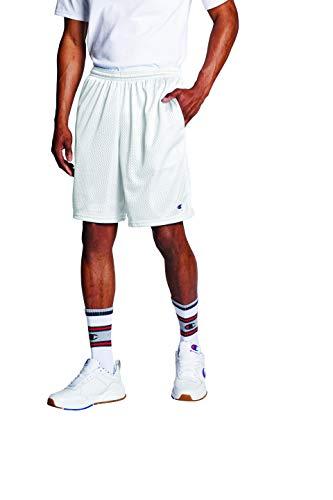 Champion lange Mesh-Shorts für Herren mit Taschen, Mittel