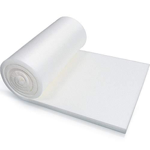 Foam Cushion Sheet High Density Firm Foam Upholstery Foam Cushion, Seat Replacement Upholstery Sheet for Home Accessories Supplies (79 x 16 x 0.8 Inch)