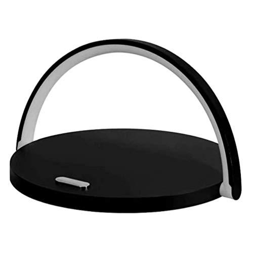 OPW Lámpara De Mesa con Cargador Inalámbrico Lámpara De Noche LED Moderna con Control De Atenuación Táctil Lámparas De Lectura Luz De Noche De Escritorio Inteligente para Dormitorio,D