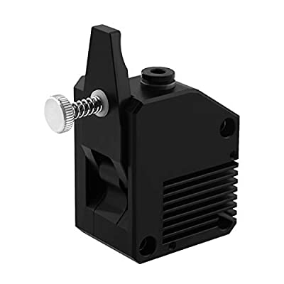 Docooler Full Metal BMG Extruder Dual Drive Gear Extruder Left Hand/Right Hand Support Flexible Filament Compatible with Creality CR-10 Series/Ender-3 Series Two Trees Sapphire/Bluer 3D Printer