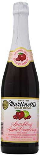 Martinelli's Sparkling Apple-Cranberry Juice, 25.4 oz