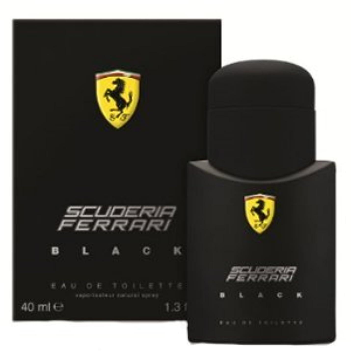 昨日戦争心からFERRARI フェラーリ フェラーリブラック 40ml メンズ 香水 FERBKEDT40 (並行輸入品)