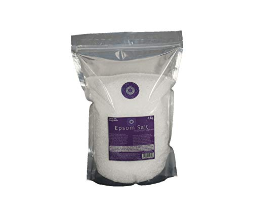 3 Kg Bolsa- Sal de Epsom 100% Natural. 3 Kg Bag- Epsom Salt by Natural Route Ltd, Free Delivery