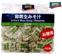 即席生みそ汁お徳用 しじみ風味 100食入り /アロ(3袋)
