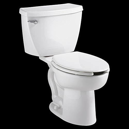 American Standard 2462.016.020 Cadet Elongated Pressure Assisted Two Piece Toilet, White