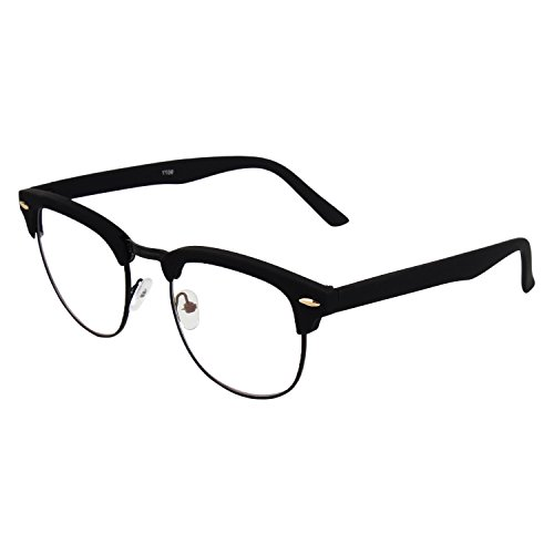 Abner Black Clubmaster Unisex Eyewear Frame 149