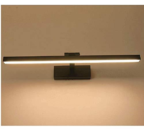 XIAJIA -9W 900LM IP44 Lámpara de espejo, Aplique de Baño LED, 400mm/3000K, para Espejo Muebles de Maquillaje Aparato Montado en la Pared(Blanco Cálido)