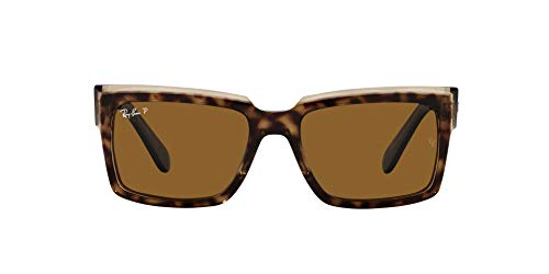 Ray-Ban 0RB2191 Gafas, HAVANA ON TRANSPARENT BROWN, 54 Unisex Adulto