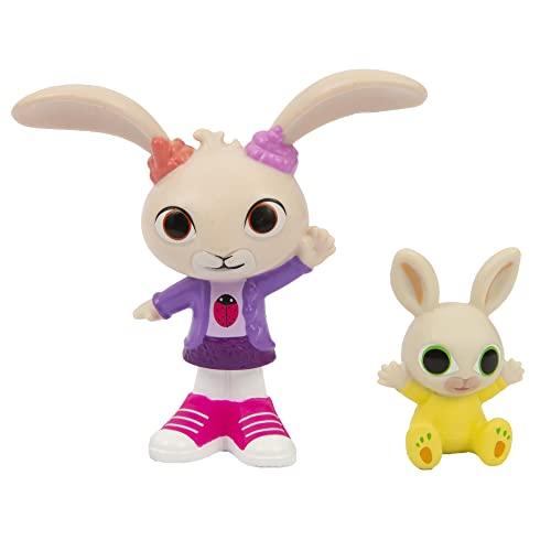 Bing - Coppia di Mini Personaggi Coco e Charlie, adatto per le mani dei più piccoli, collezionali tutti, per bambini a partire dai 18 mesi, BNG10L01, Giochi Preziosi
