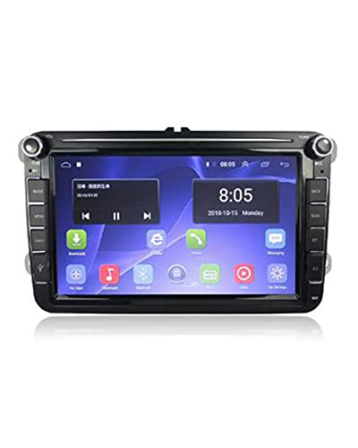 ACD 2 DIN Android Car Radio Multimedia Apto para VW Skoda Octavia Golf 5 6 Touran Passat B6 Polo Jetta(Color:4G 2G 32G)