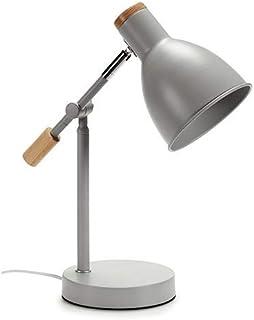 CABLEPELADO Lampara de escritorio flexo 37 cm (Gris)