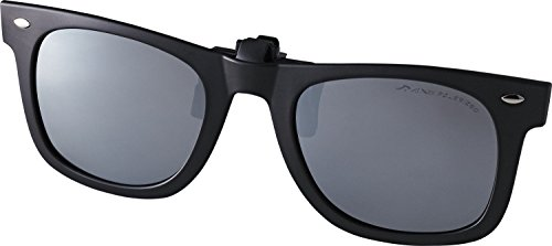AXE(アックス) サングラス クリップオンタイプ UVカット 偏光レンズ シルバー AS-3PCS