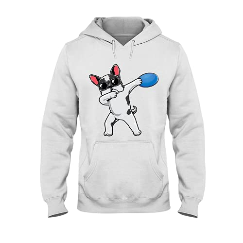 Swag Frenchie Hoodie, Gaming Hoodies For Men Women - Warm Brushed Fleece Layer Inside - Pullover Long Sleeve 3D Print Hooded Sweatshirt Series 4 Size S