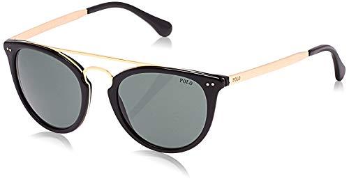 Ralph Lauren POLO 0PH4121 Gafas de sol, Shiny Black, 51 para Hombre