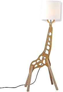 Lampadaire créatif de style nordique moderne Original bois 1.1m réglable décoration en bois humanoïde Girafe décoration à ...