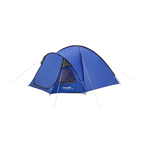 Eurohike Cairns 4 Spacious Dome Design 4 Perosn Deluxe Tent, Blue, One Size