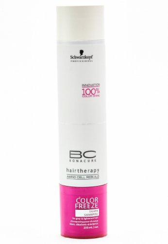 Schwarzkopf Professional BC Bonacure Color Freeze Silver Shampoo 250 ml, per stuk verpakt (1 x 250 ml)