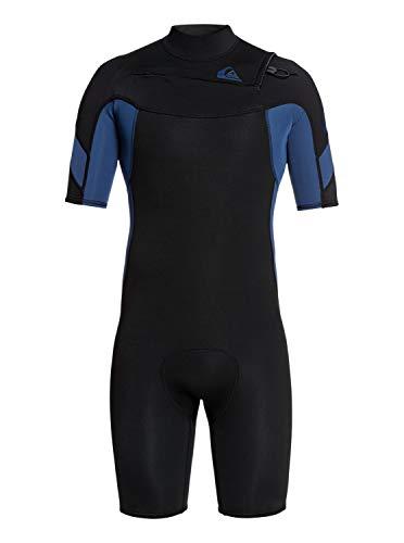 Quiksilver 2/2mm Syncro - Short Sleeve Chest Zip FLT Springsuit - Männer