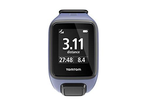 TomTom Spark Music - Montre Fitness GPS - Bracelet Fin Violet (ref 1REM.003.06)