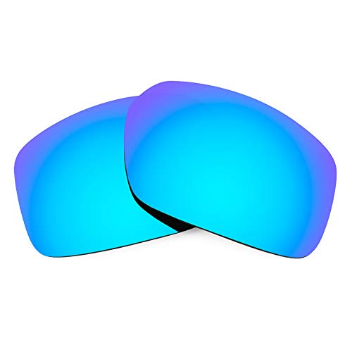 Revant Verres de Rechange Compatibles avec Spy Optic Touring, Polarisés, Bleu Glacier MirrorShield