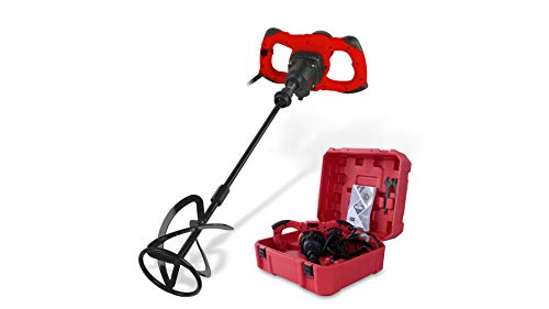 Rubi 24998 Mezclador Rubimix-16 ERGOMAX con maleta de transporte, 1600 W, 240 V, Rojo