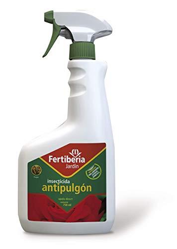 FERTIBERIA JARDÍN Insecticida Antipulgón Upala Direct Pulgón Apto Jardinería Exterior Doméstica Listo para Usar 750 ml
