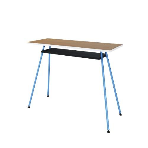 LEVIRA Escritorio, Mesa de Escritorio Kost Colors, 100 x 40 x 75 - Azul