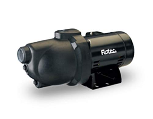Flotec Thermoplastic Shallow Well Jet Pump - 1 1/4in. Suction Port, 1in. Discharge Port, 720 GPH, 3/4 HP, Model# FP4022