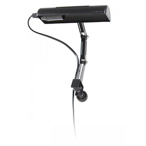 Eenvoudige, gemakkelijk aanpasbare lamphouder dankzij verstelbare klemvoorziening.