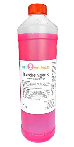 well2wellness Schwimmbadreiniger Poolreiniger - Grundreiniger K 1,0 l