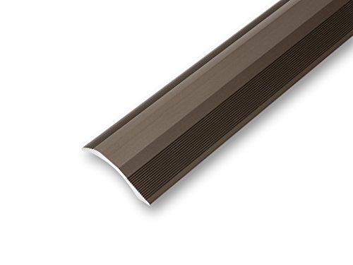 (10,21€/m) Ausgleichsprofil 45 x 900 mm selbstklebend | Übergangsprofil | Rampenprofil | unterschiedliche Höhen | Anpassungsprofil flexibel | - Höhenausgleich von 2-20 mm (900 mm, bronze)