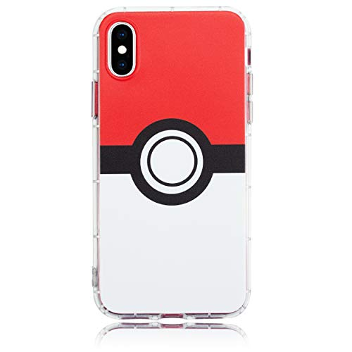 BRILA iPhone X/XS case, Ball Pattern TPU Shockproof Phone case for iPhone X/XS