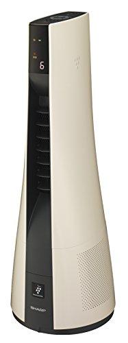 シャープ プラズマクラスター25000搭載 HOT&COOL 冷暖房タワーファン ベージュ PF-HTH1-C