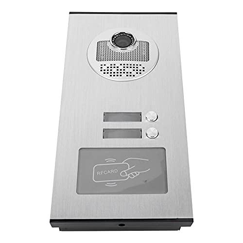Videoportero Aplicación amplia Bajo consumo de energía WIFI Portero automático Fácil de instalar y usar(European regulations)