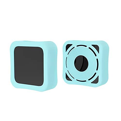 Freljorder para Apple TV 4K Funda Protectora de Silicona con Control Remoto y Caja Protectora
