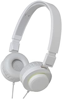 Panasonic RP-HXD5C-W Street Style Monitor Headphones, White (Discontinued by Manufacturer)